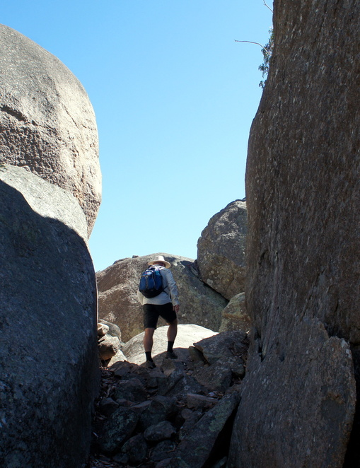 Walk among the rocks in the Granite Belt region with Wild Cat Tracks tours