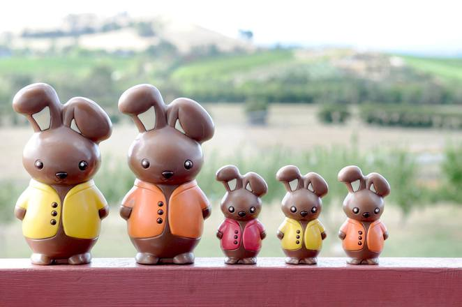 Yarra Valley Chocolaterie Easter Egg Hunt and Kids chocolate making classes