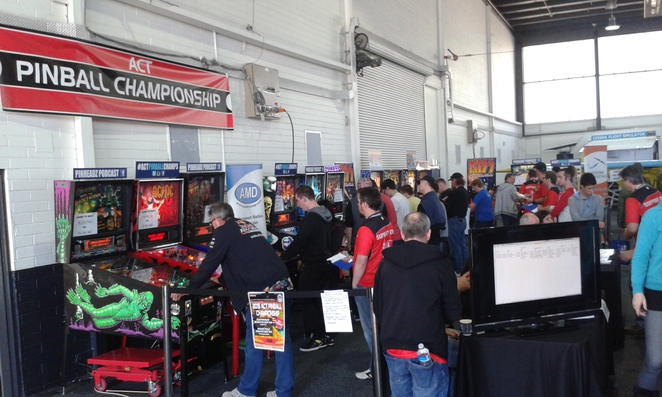 ACT Pinball championships, big boys toys expo, canberra, 2016, EPIC, exhibition park in canberra,