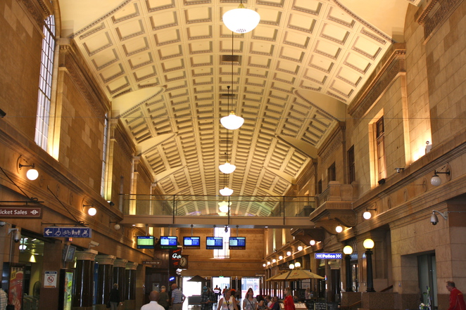 Adelaide station interior