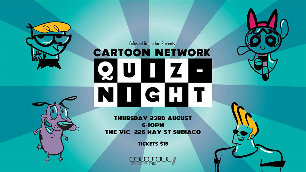 Cartoon Network Quiz Night Perth