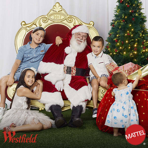 Belconnen Westfield, Canberra, santa photos, ACT, 2017,