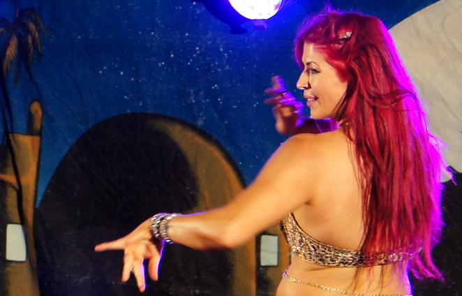 The beauty of belly dancing