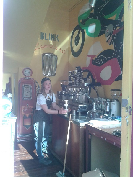 Blink, coffee bar, coffee, hot chocolate, Fremantle
