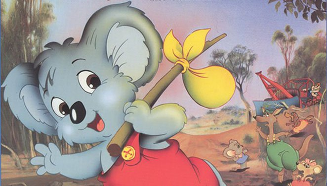 Blinky Bill movie, National Film and Sound Archive, Canberra