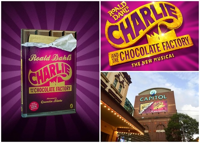 charlie and the chocolate factory, sydney, capitol theatre, school holidays, whats on, weekend, matineee, nightlife, shows, january, may, 2019, theatre, musicals, kids, chidlren, family friendly, NSW, sydney city,