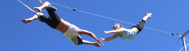 circus arts, trapeze classes