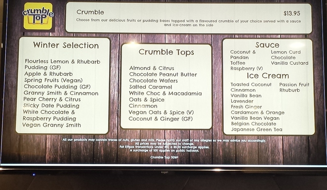 Crumble Cafe