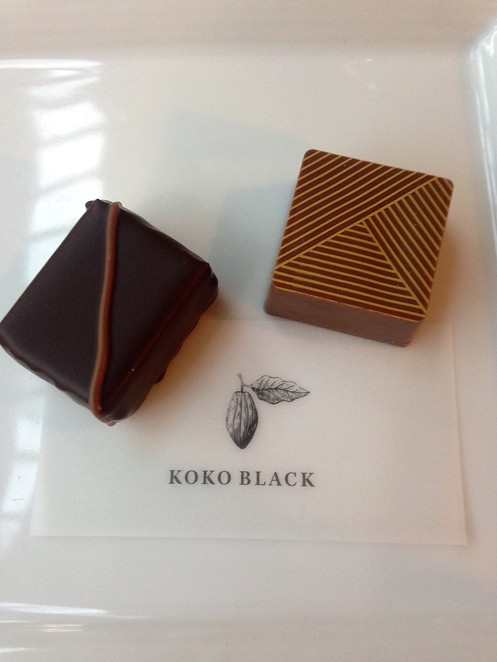 Dad will love Koko Black's two new speciality falvours, Dark rum and milk chocolate stout.