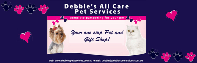 Debbies All care pet services, Southside pet store, Pet grooming, ezy dog leads, wholesome dog food,