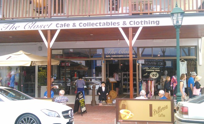 designer clothing, designer shoes, The Closet, The Closet Cafe and Collectables, The Closet Cafe, Clothing & Collectables, Victor Harbor