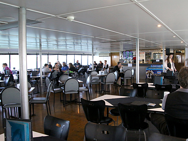 The Dolphin Explorer Dining Room