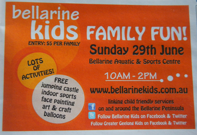 Bellarine Kids Expo & Family Fun Day 2014