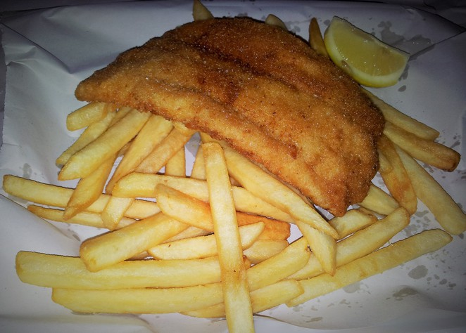 fish, chips