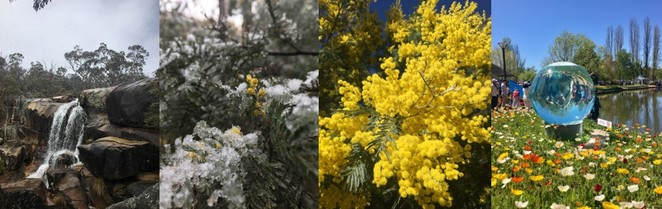 four seasons of Canberra