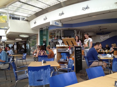 Great little atmosphere here at this Mooloolaba cafe