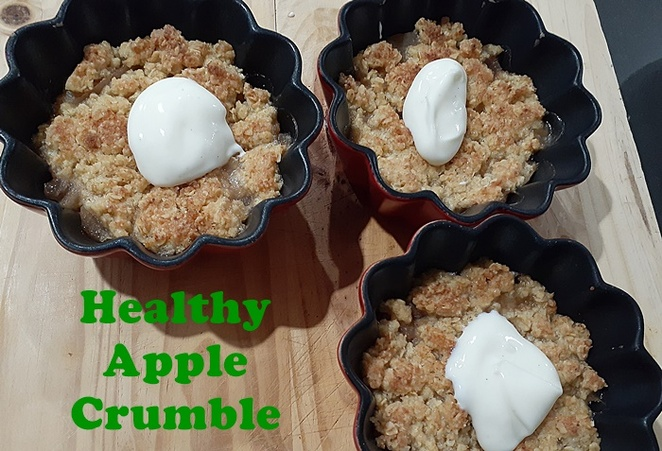 healthy apple crumble, recipes using apples, budget, dessert, healthy, low sugar, healthy recipes, apples, crumble, apple pie, family, kids, easy, australia,