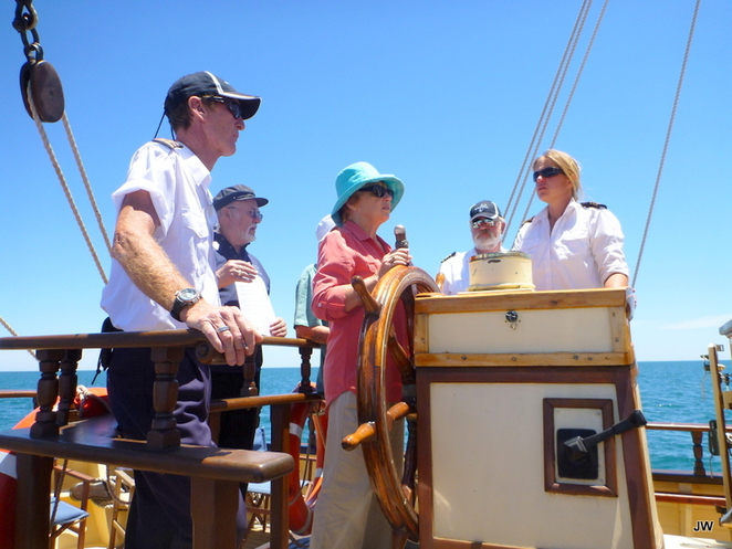 helming, one and all, tall ships