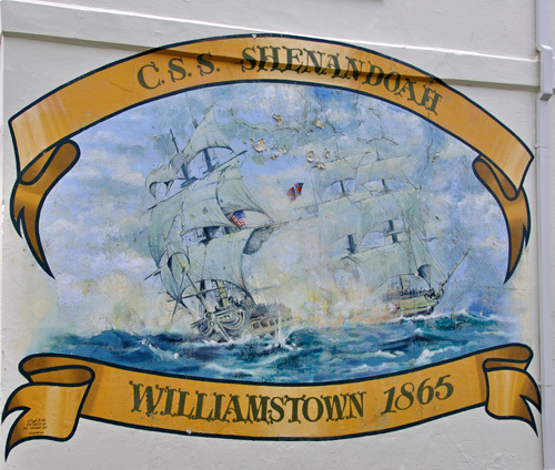 History Melbourne Williamstown Ship Ships Shipping Shenandoah American Civil War