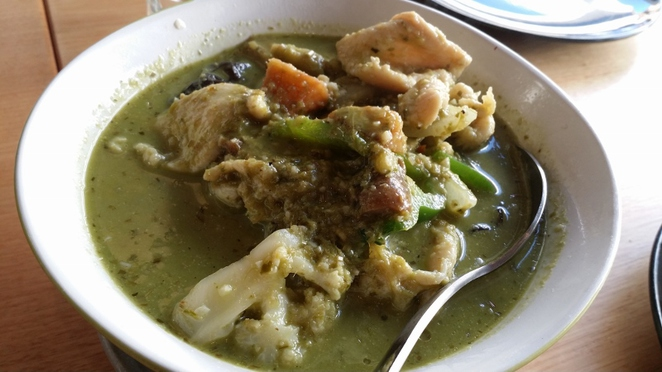 House of Pearl, Green Chicken Curry, Adelaide
