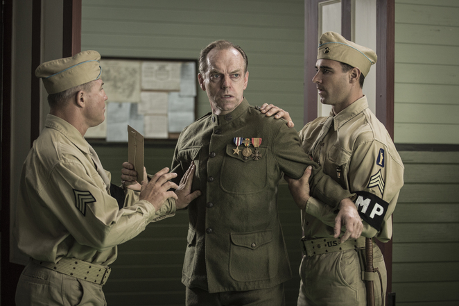 Hugo Weaving in Mel Gibson's Hacksaw Ridge