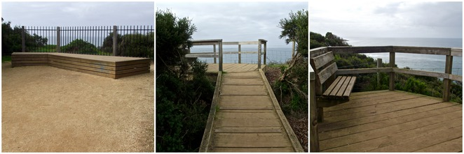 Jan juc, Bells Beach, Surf Coast Walk, Lookout, Lookouts, wooden platform, view,