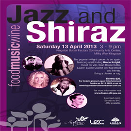 jazz and shiraz