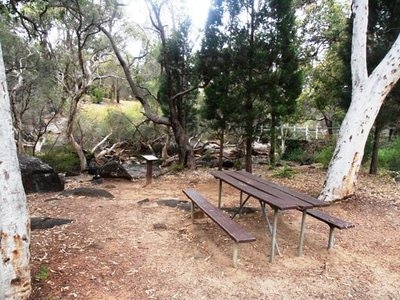 One of the many beautiful picnic spots which can be found at John Forrest National Park.