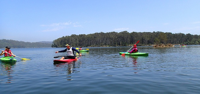 Kayaking & Paddle Boarding, Pro-Kayaks, Narrabeen Lakes