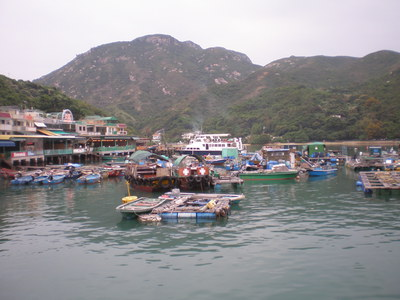 Lamma Island Fishermans Village