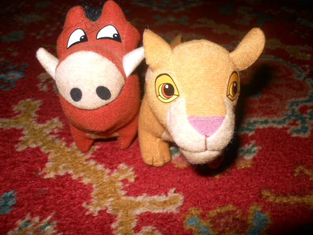 lion king, pumbaa, kiara, simba's pride, happy meal, mcdonalds