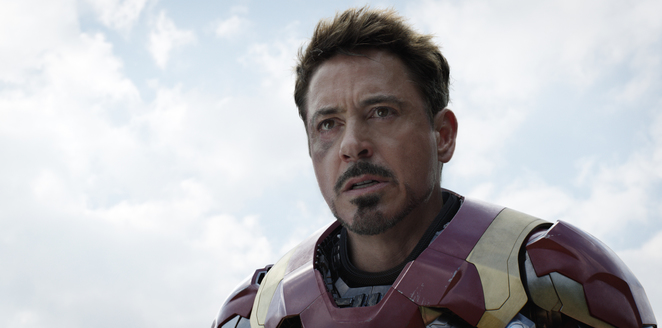 Tony Stark in MARVEL's Captain America: Civil War