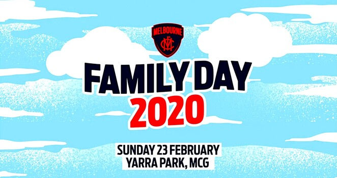 melbourne family day 2020, community event, fun things to do, melbourne cricket ground, mcg, family fun, free fun day out, entertainment, activities, biggest outdoor event, afl players, aflw players, yarra park mcg, memberships and merchandise to buy, demon shop marquees, food, coffee, beverages