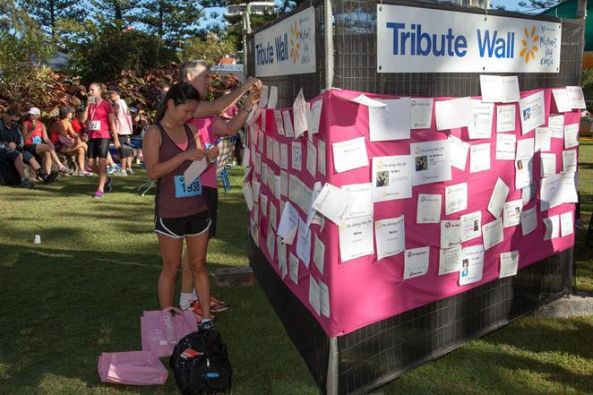 mothers day classic, gold coast events, tribute wall