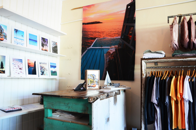 Muchacho clothing in Manly Pop Up store 10% for Weekend Notes readers