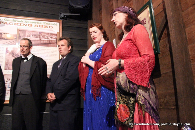 murder on the puffing billy express