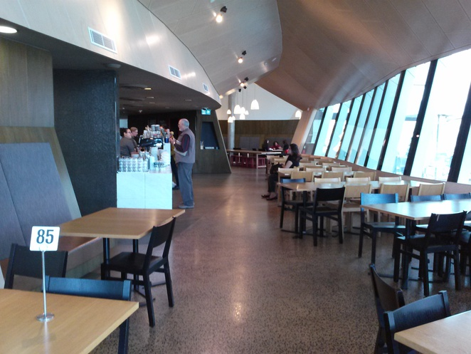 Museum Cafe, the National Muesum of Australia