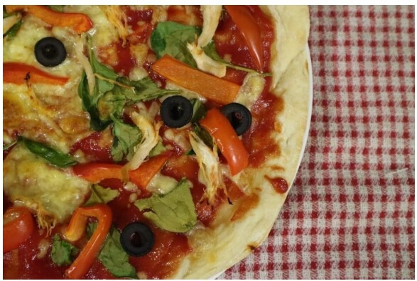 pizza, cook, kids, learn