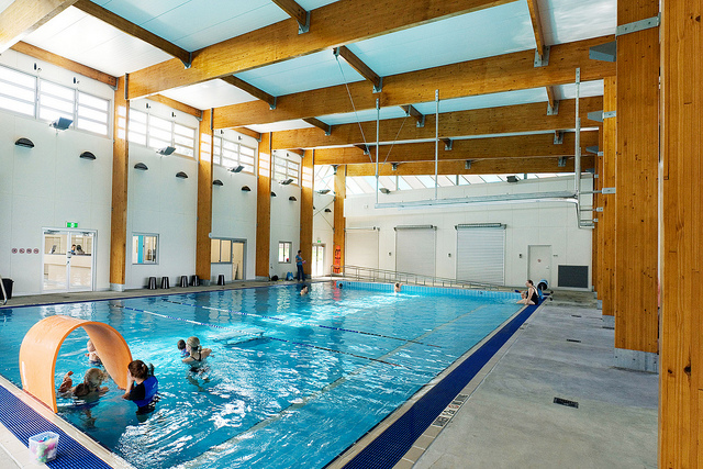 Colmslie Indoor Activity Pool, Spring Hill (Courtesy of Brisbane City Council)
