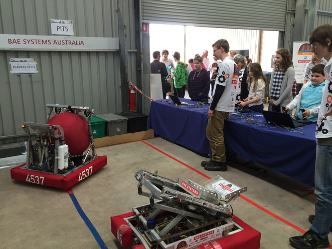 RoboRoos, Open Day, National Science Week, Wingfield, Robotics, Drones, Droids and Robots, STEM