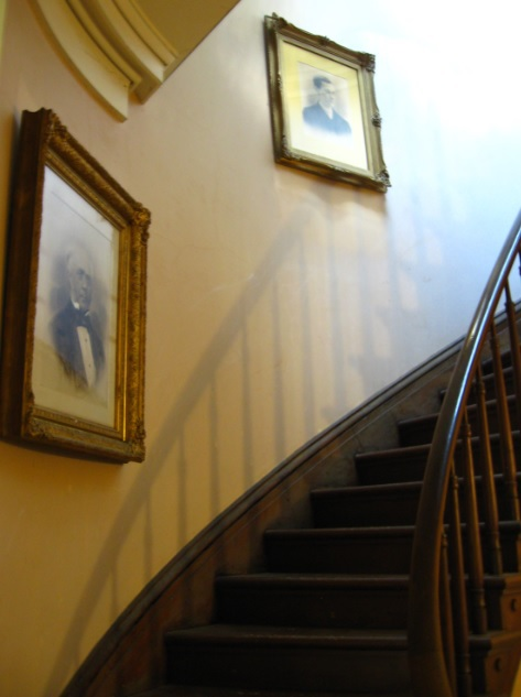 Ruthven, staircase, floating, historic, home, manor, mansion, tour,
