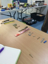 screws, anchors, drill bits, handyman course
