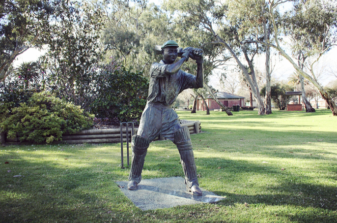 The Captain's Walk, Cootamundra, cricket, Canberra, road trip, history