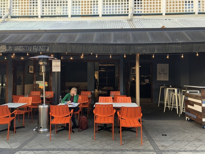 The Creperie by Hexagone Shafto Lane Perth storefront