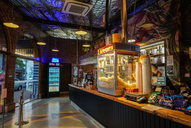 The Red Hill Cinemas candy bar