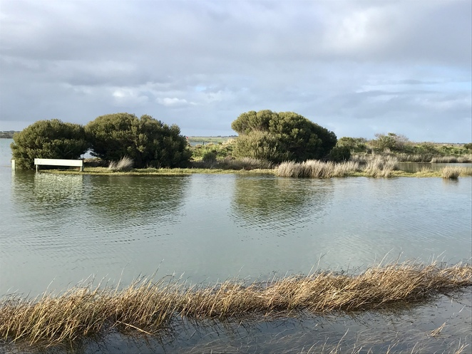 The very start of Coorong National Park