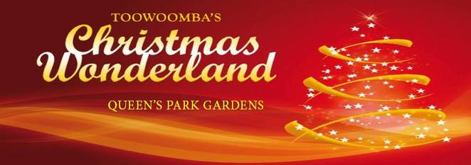 Toowoomba's Christmas Wonderland, 2017, community event, supper, free give-aways for children, gold coin donation, fundraising, light extravaganzas, Christmas time, see you at the lights, Queens Park Botanic Gardens, heritage listed, face painting, tea and coffee stations, balloon animals, BBQ, free ice creams, roving entertainers, dance groups, family fun