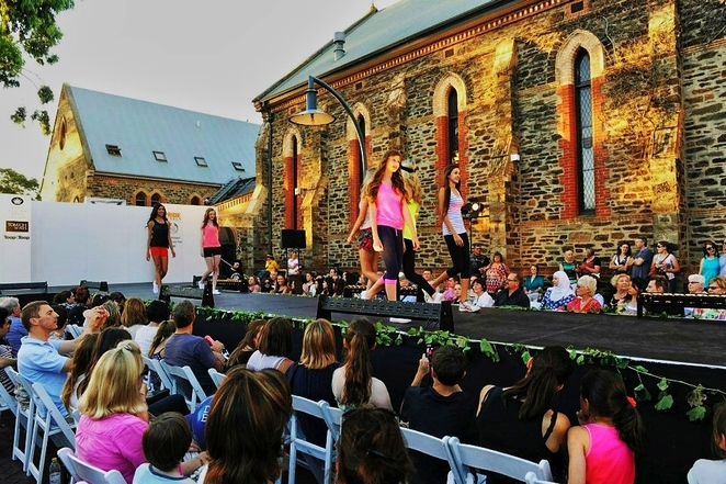 unley, gourmet, gala, adelaide, tour down under, wine, festival, food, free, fashion parade