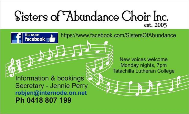 Sisters of Abundance Choir