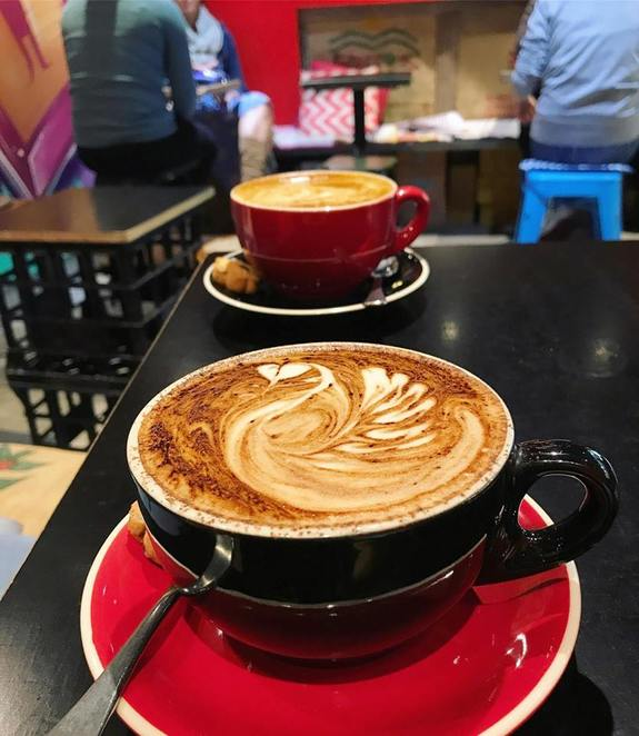 18 Grams, coffee, project, cafe, hurstville, station, latte, mocha